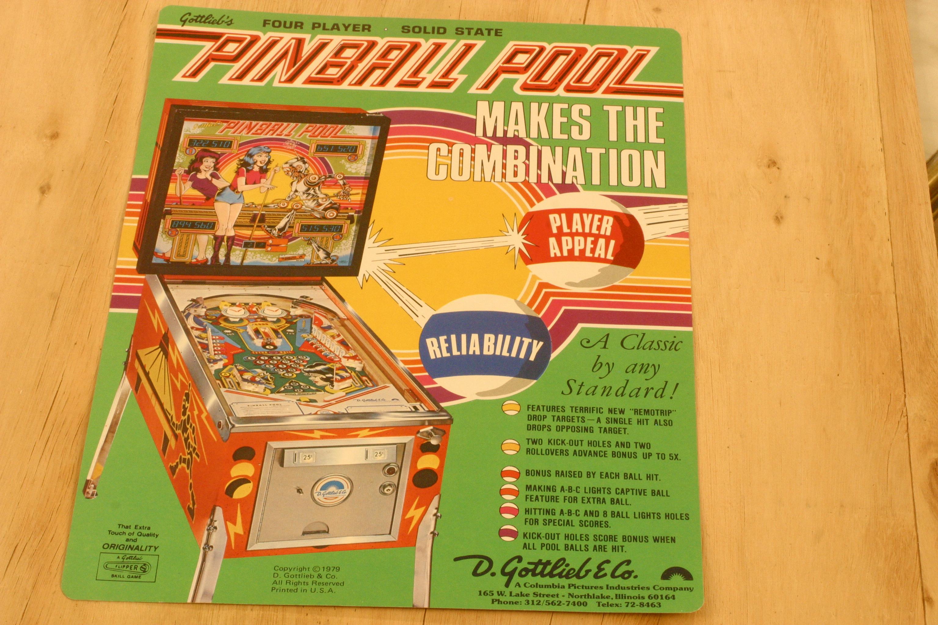 PIONEER  Gottlieb 75 pinball elastiques flipper Kit  caoutchoucs SPIRIT OF 76